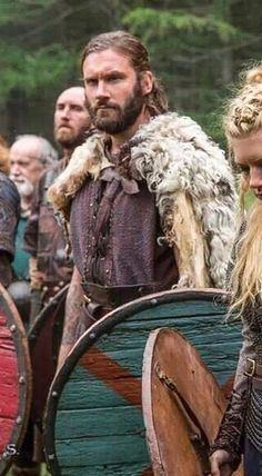 Clive Standen as Rollo on Vikings