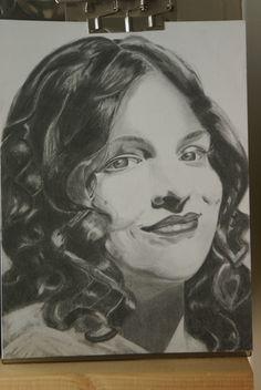 Graphite Portrait 10 x 12 Approx