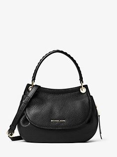 Viv Medium Leather Messenger by Michael Kors