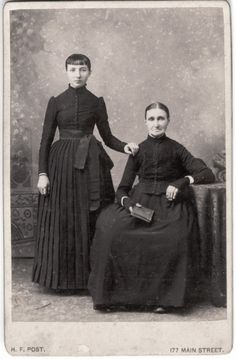 """Two Dutch Women: 1895"""