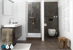 Badkamer   Mooie indeling voor een kleine ruimte Door