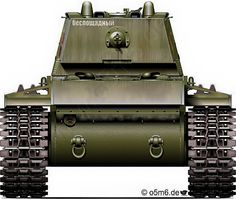 KV-1 backside