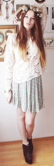 dream catcher- lace top