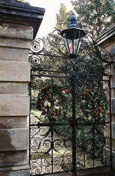 Wrought Iron Gate by regina.covington.127