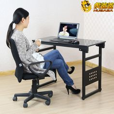 stylish black leather office chair added contemporary glass top