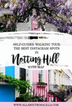 A self-guided Notting Hill walking tour. This 2 hour walking tour takes you around all the hidden streets and mews of this cosmopolitan area of London. Europe Travel Guide, Travel Guides, Travel Destinations, Travel Advice, European Destination, European Travel, Scotland Travel, Ireland Travel, London Photography