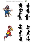 Jeux des ombres, les pirates