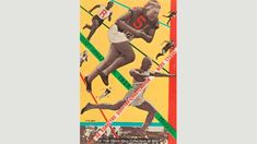 Moscow All-Union Olympiad (1928) by Gustav Klutsis, who was one of the first artists in the USSR to make photomontages (Credit: The David King Collection at Tate)  (Credit: The David King Collection at Tate)