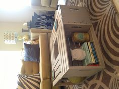 Made with Michaels crates. Color possibilities are endless. Michaels Crates, Home Suites, Diy Coffee Table, Apartment Living, Living Room, Furniture Making, Home Goods, Easy Diy, New Homes