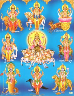 Hinduism also considers Nava Grahas ( 9 Planets) as gods and places Sun God at the Center. These gods have mention in Hindu Literature dating back to 1000's of years before any recent Astronomers could predict that we are part of a Solar System with the Sun at its Center.