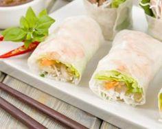 Rouleaux de printemps végétaliens : http://www.fourchette-et-bikini.fr/recettes/recettes-minceur/rouleaux-de-printemps-vegetaliens.html