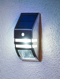 This PIR Sensor Stainless Steel Wall Light automatically switches on at dusk then shines brighter when motion is detected by PIR sensor. Free Competitions, Steel Wall, White Lead, Truffles, Projects To Try, Wall Lights, Led, House, Ideas