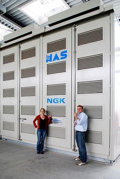 Thermal batteries - NaS battery storage
