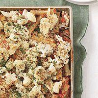 Cauliflower-Feta Pasta Bake - Rachael Ray