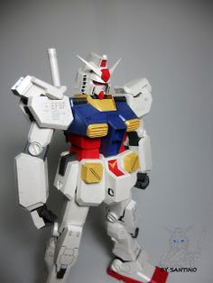 Gundam Paper: 【JUNE】RX-78-2 ver.Ka (Final)