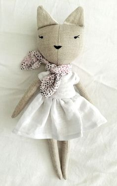 Lulu Doll by lespetitemainss on Etsy