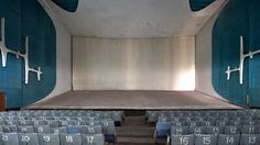 New photographs offer look inside theatre in Le Corbusier's Chandigarh