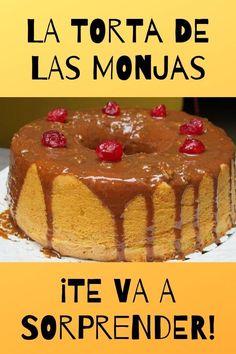 Este pastel de la monjas o tarta o torta de las monjas te va a encantar ¡Nosotros lo hemos probado y nos ha parecido delicioso!