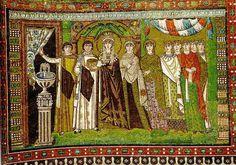 Mosaico de Teodora, San Vital de Rávena