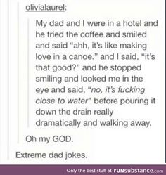 There should be a national dad joke competition