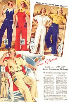 1938 South American Inspired Sportswear