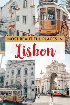 Ultimate 3 days in Lisbon Itinerary and guide to make you travel ready. Explore the city's highlights, history, food, trams and take a day trip to Sintra. Portugal Travel Guide, Europe Travel Guide, Travel Guides, Travel Destinations, Visit Portugal, Spain And Portugal, Lisbon Portugal, Pink Street, European Travel