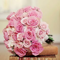Fresh Bridal Bouquets | Pink Rose Bouquet | SouthernLiving.com