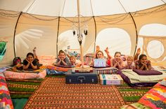 "Little Big Company the blog: Just beautiful ""Glamping"" Birthday party by Lily from Lily Chic Events"