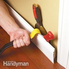 How to Remove Wood Trim ... need this to remove what's around our walls now to put up the new ones.