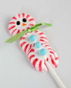 The Party Wagon - Blog - {DIY} CANDY CANE LOLLIPOPS