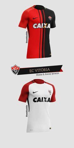 62d04c47f1 Nike Brasileirão Série A 2017 Concept Jerseys