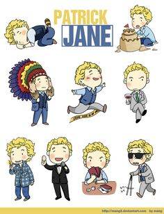 The Mentalist_Patrick Jane101 by mang2