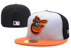 Baltimore Orioles MLB Baseball Cap Embroidery Front Logo Altenate O'a on-field Fitted Hat #DHgatePin