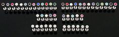 Body Piercing Jewelry 32050: 25 14G Cz Gem Labrets Monroes Lip Rings Wholesale Lot -> BUY IT NOW ONLY: $57.88 on eBay!