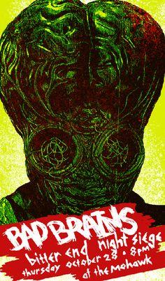 Bad Brains concert poster