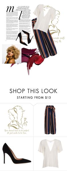 """""""Untitled #14"""" by sofyalon ❤ liked on Polyvore featuring Whiteley, Gianvito Rossi and IRO"""