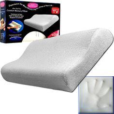 Trademark Commerce 80-55016 Remedy Comfort Memory Foam Bed Pillow