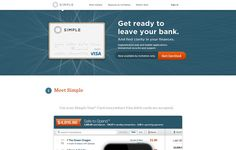 Get ready to leave your bank. And find clarity in your finances. http://simple.com