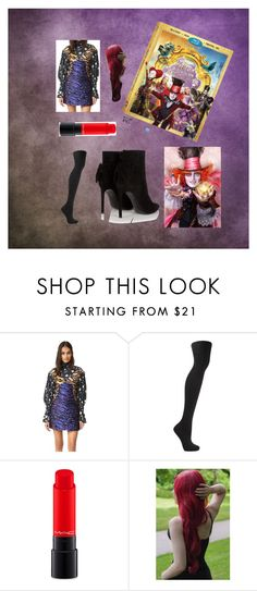 """""""Untitled #9"""" by jst843 on Polyvore featuring Kenzo, Frame Denim, MAC Cosmetics, Yves Saint Laurent, contestentry and DisneyAlice"""