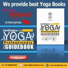 The book is true essence of yoga, it helps learner to promote a self-balanced development by understanding physical, mental and spiritual knowledge shared in this book. Online Yoga Teacher Training, Yoga Certification, Yoga Books, Yoga Challenge, Best Yoga, Getting To Know You, Guide Book, Yoga Inspiration, Textbook