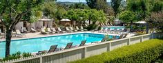 At Silverado Resort & Spa in Napa Valley, California. By Hotelied.
