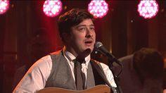 Mumford & Sons - I Will Wait (Live on SNL)