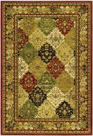 Safavieh's Lyndhurst collection offers the beauty and painstaking detail of traditional Persian and European styles with the ease of polypropylene. With a symphony of florals, vines and latticework detailing, these beautiful rugs bring warmth and life to any home.