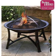 """Better Homes and Gardens 30"""" Fire Pit WAD1091W"""