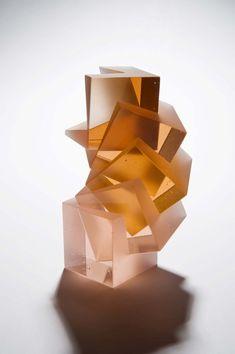 Heike Brachlow sculpteur de verre - Journal du Design