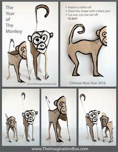 toilet roll monkeys