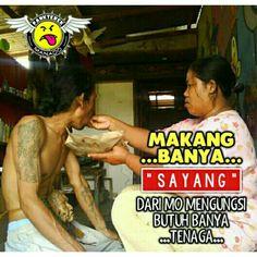 [•] Makang banya jang mati...😀 ° ° ° #Pankterek_Manado  #Cuma_Bakusedu  #Admin_Chex🎭Alcatraz