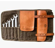 DeusX x Makr Leather Tool Roll | Gentleman's Gadgets ($100-200) - Svpply