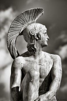 Statue of Theseus / Thiseas - Athens, Greece