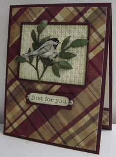 Beautiful Bird - WT374 by Loll Thompson - Cards and Paper Crafts at Splitcoaststampers